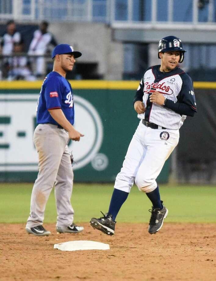 Second baseman Ivan Bellazetin and the Tecolotes had 11 runs Thursday night, their third-highest scoring effort of the 2018 season. Photo: Danny Zaragoza /Laredo Morning Times