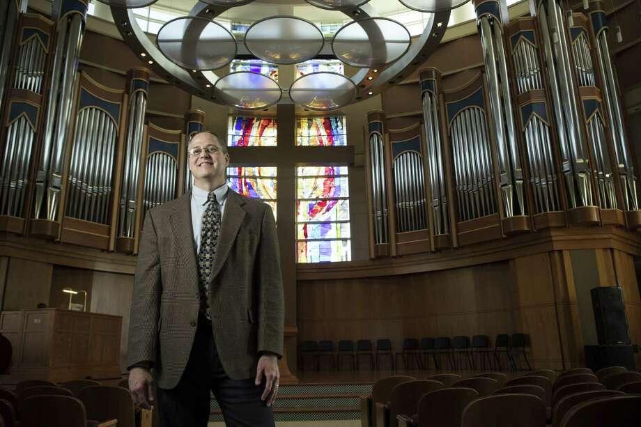 Michael Todd Bates is the new dean of Houston Baptist University's School of Christian Thought. Photo: Brett Coomer, Staff / Houston Chronicle / © 2018 Houston Chronicle