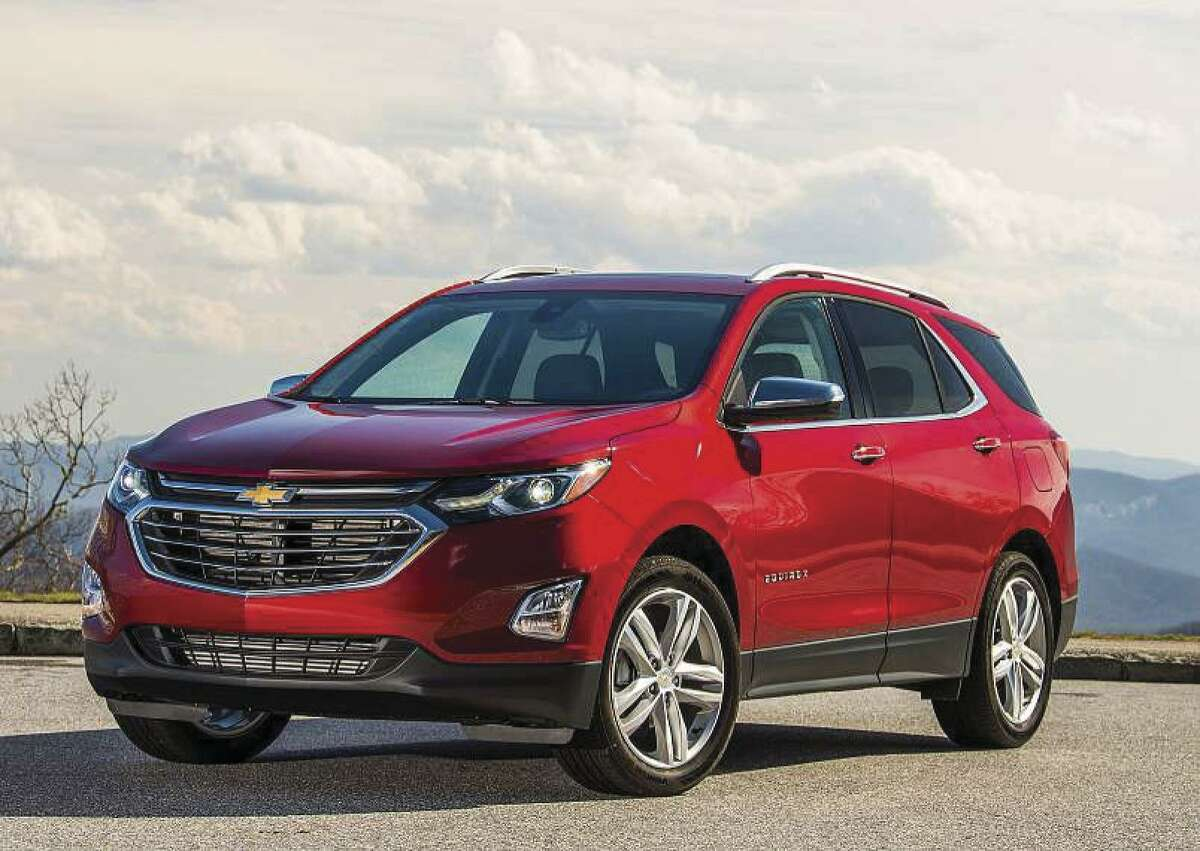10. Chevrolet Equinox: 13 percent more deals than average