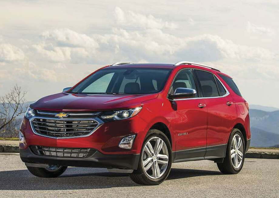 The redesigned 2018 Chevrolet Equinox compact crossover comes with a choice of three engines, including a turbocharged four-cylinder diesel with EPA ratings of up to 39 mpg highway. (Chevrolet photo)