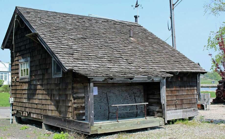 Repairs to the exterior of the shed at Ye Yacht Yard are planned, thanks to funding from the Southport Conservancy. Photo: Genevieve Reilly / Hearst Connecticut Media / Fairfield Citizen