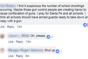 A Facebook page for Santa Fe ISD has been inundated with thoughts, prayers, and comments regarding a mass shooting at Santa Fe High School Friday morning that has claimed multiple lives.