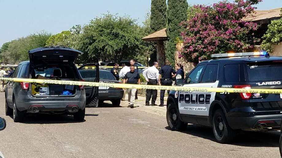 An officer-related shooting at the 300 block of Soria Drive in south Laredo was reported Friday morning. Photo: Laredo Morning Times