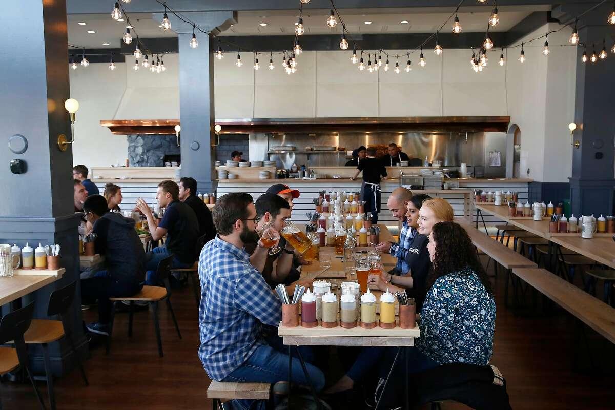 Wursthall Restaurant & Bierhaus in San Mateo.
