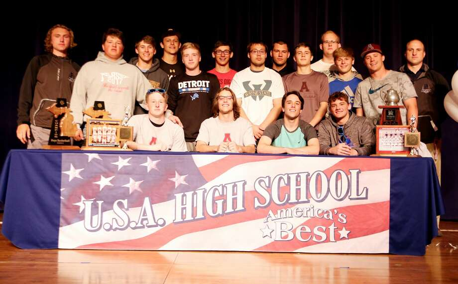 USA Signing Day 2018 Photo: Paul P. Adams/Huron Daily Tribune