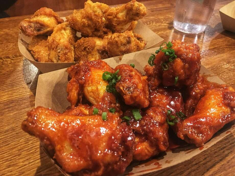 """10. Chi Mac, University District Jai C.: """"These are the best wings I have had in Seattle! The snow wings are delicious and the Korean wings are good too. Highly recommend."""" Photo: Margaret S./Yelp"""
