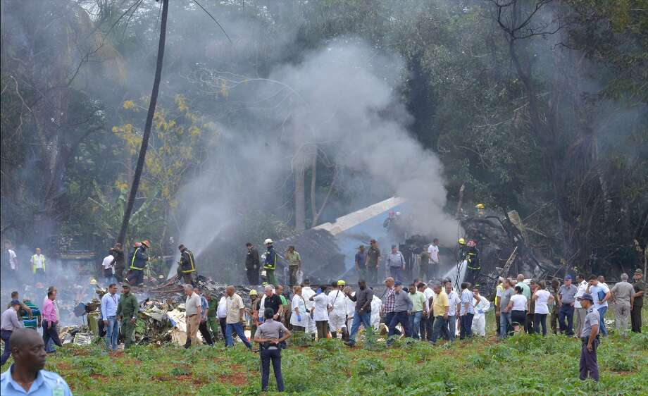 Image result for Boeing 737 with 104 passengers on board crashes moments after take-off from Havana