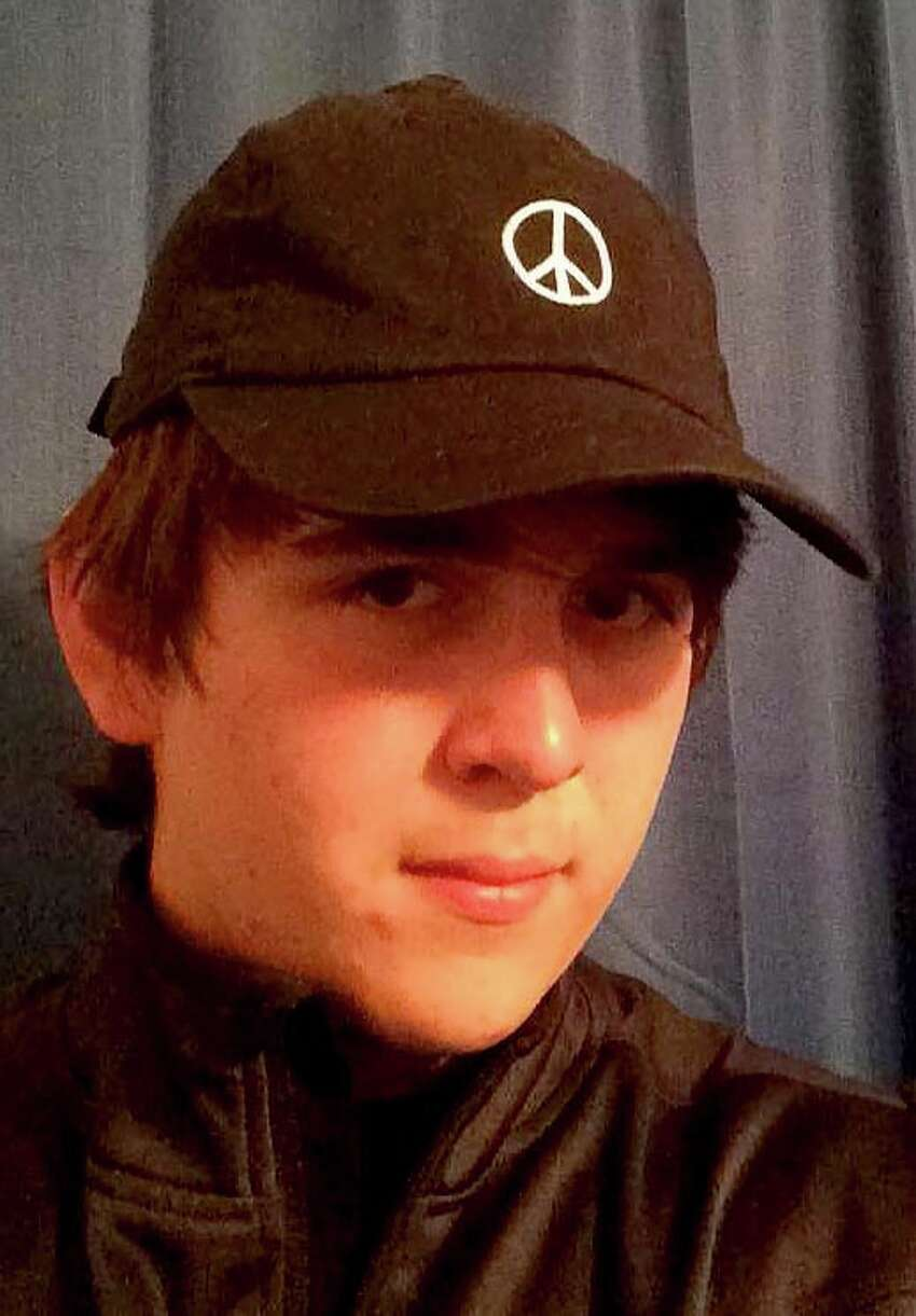 Photos take from the Facebook page of Dimitrios Pagourtzis, 17, the alleged shooter at Santa Fe High School on May 18, 2018.