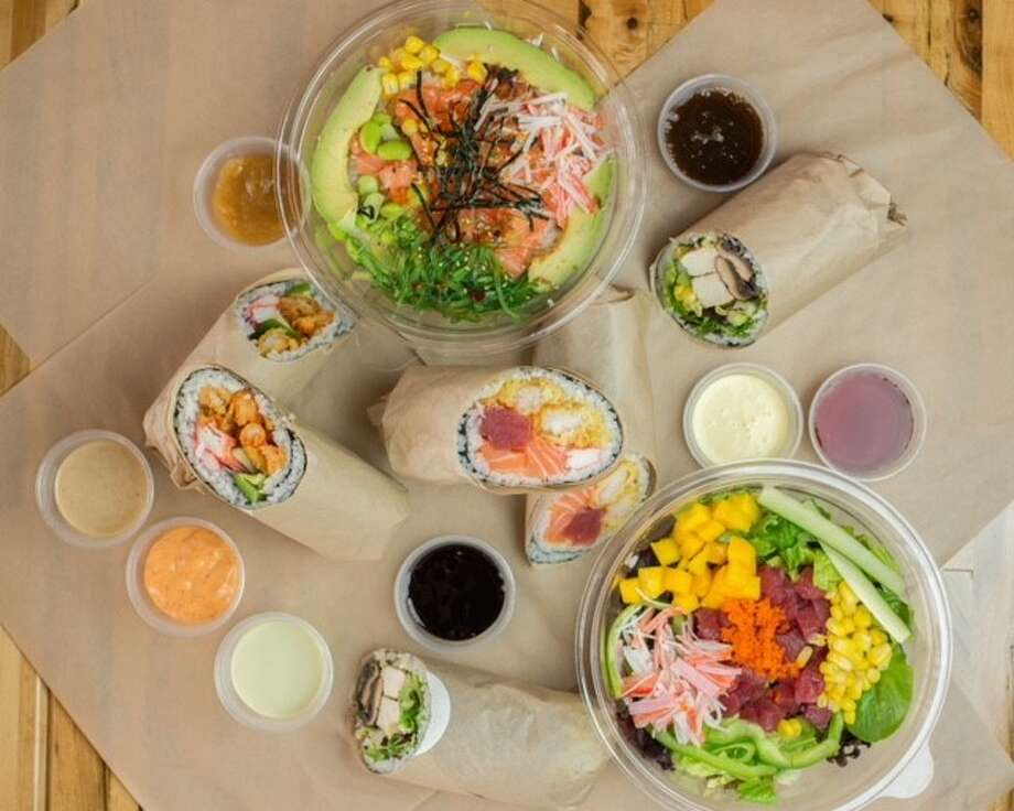 A second U'Maki Sushi Burrito restaurant has opened at 98 West Grand Parkway South at the Shoppes at Grand Crossing in Katy. Photo: U'Maki Sushi Burrito
