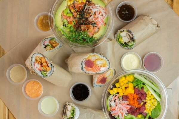 A second U'Maki Sushi Burrito restaurant has opened at 98 West Grand  Parkway South