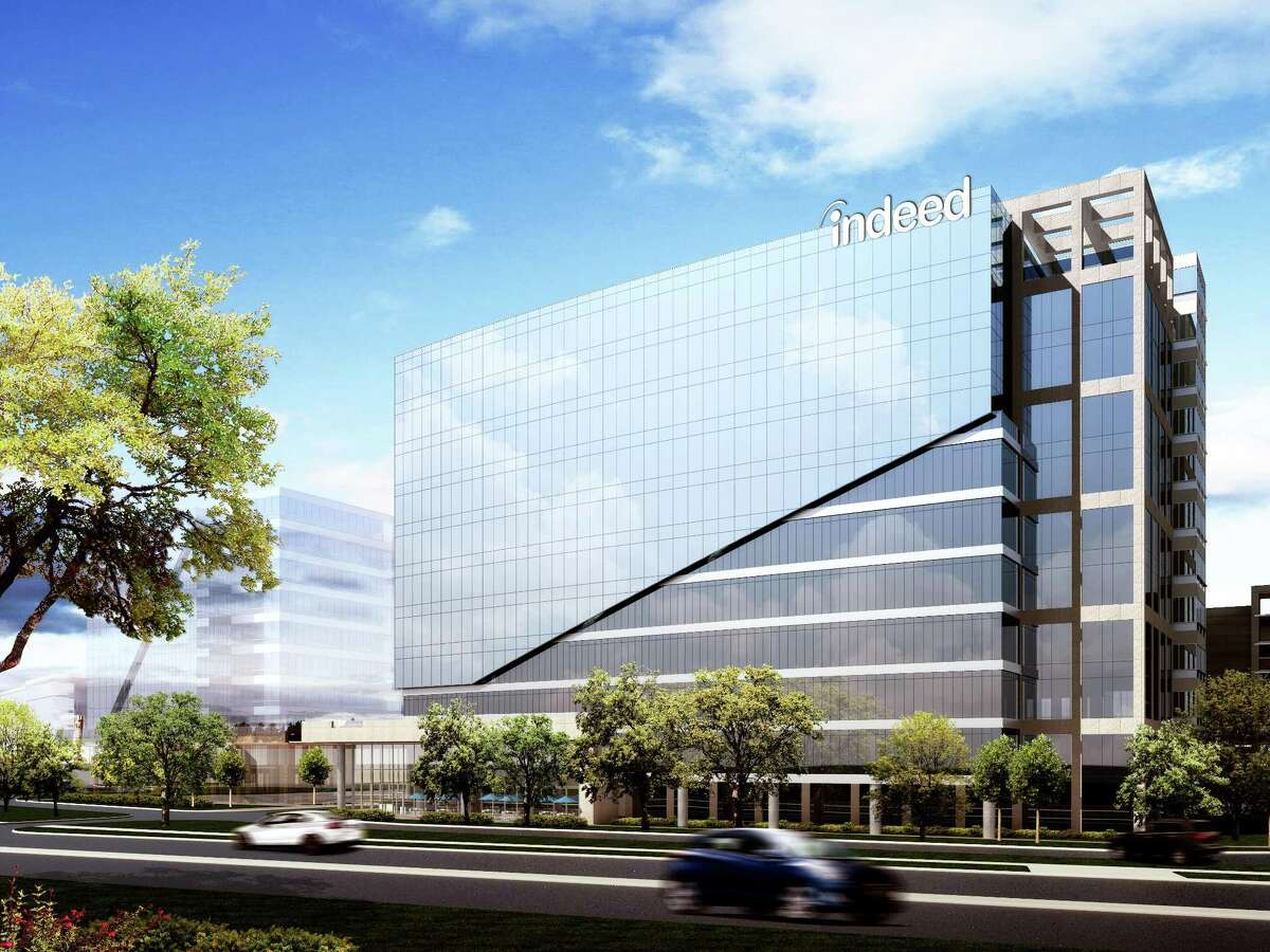 Job-search firm Indeed plans to take the full 11 stories in the under-construction Domain Tower in Austin, Texas.