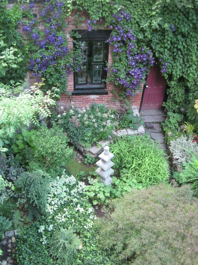 A garden included in the 2017 Secret Gardens tour in Troy. This year's tour is scheduled for 4 to 7:30 p.m., Thursday, May 24. (Photo provided)