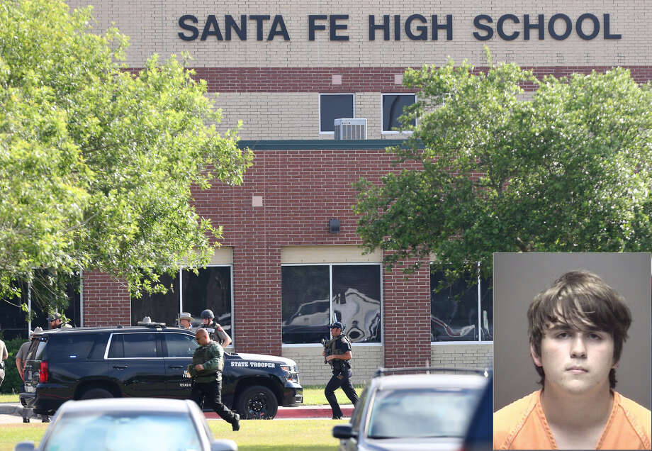 Dimitrios Pagourtzis, 17, is the alleged shooter at Santa Fe High School on May 18, 2018. Photo: Houston Chronicle