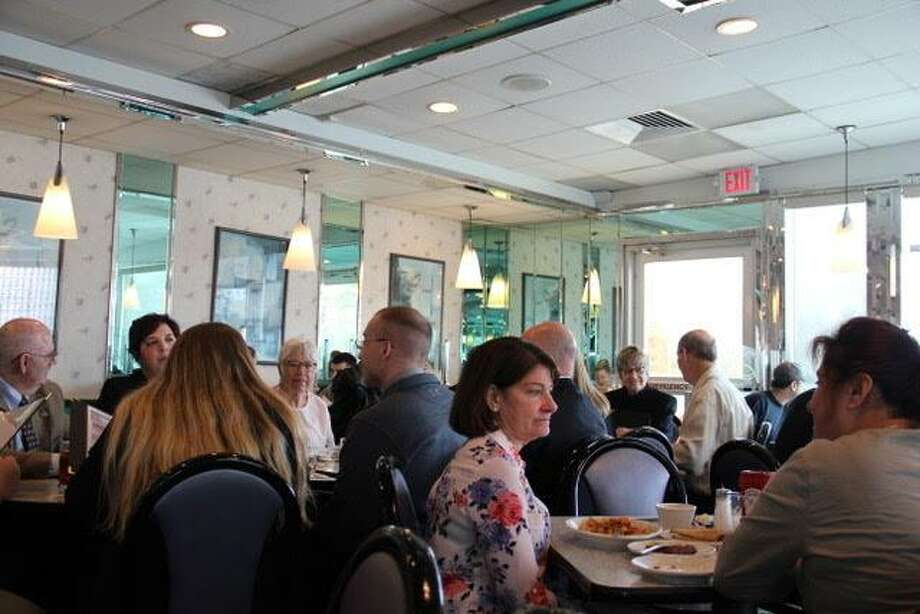Greek diners have huge menus, offering customers everything from homemade blintzes to prime rib. You also can get breakfast anytime of day or night. Photo: Jane Stern / For Hearst Connecticut Media