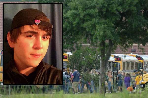 The suspected shooter arrested after a rampage that killed at least nine people at Santa Fe High School this morning is 17-year-old Dimitrios Pagourtzis, the Galveston County Sheriff's Office confirmed.