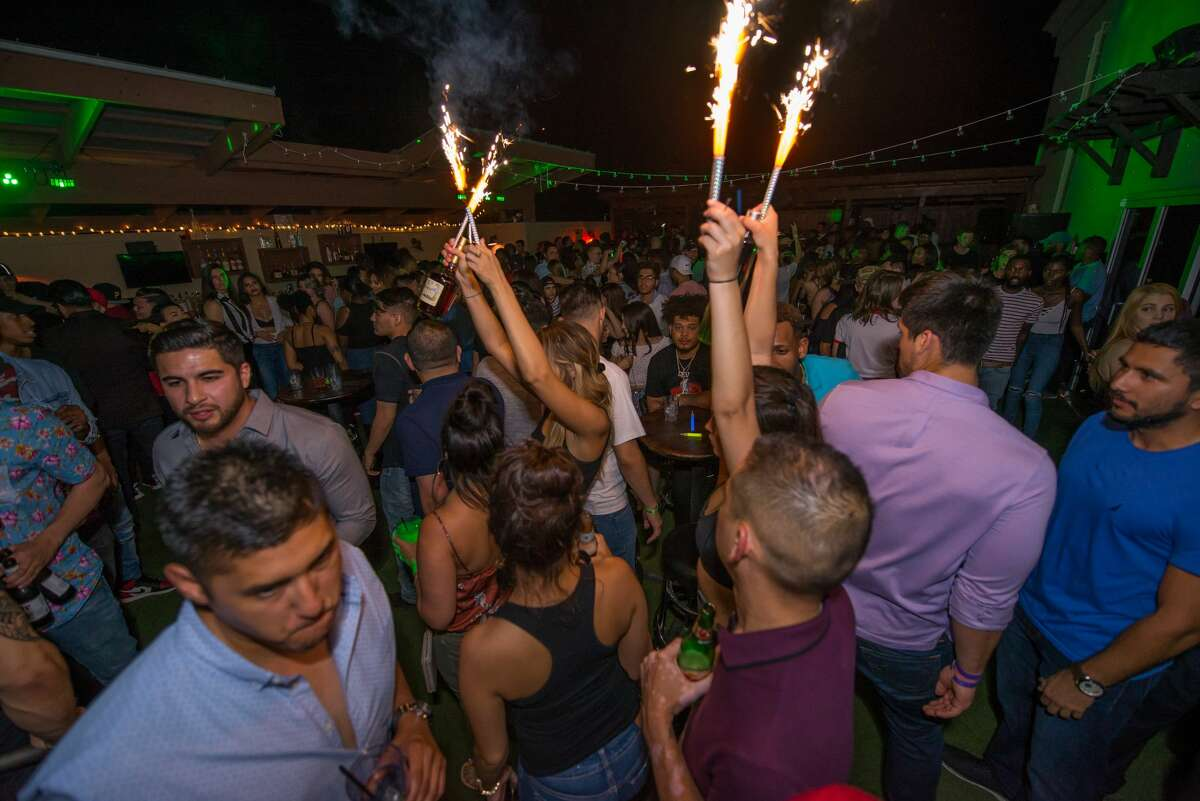 Burnhouse Location: 4553 N Loop 1604 E #1229  The Northwest Side entertainment hub quickly became San Antonio's new spot for a rooftop party in 2017, and is known for hosting themed nights, like it's annual
