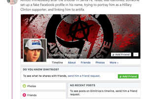 After Dimitrios Pagourtzis was identified as a suspect in the Santa Fe High School shooting on May 18, 2018, fake Facebook profiles of Pagourtzis were created. The reported fake accounts have been flagged by people on social media.  Image source:  Twitter