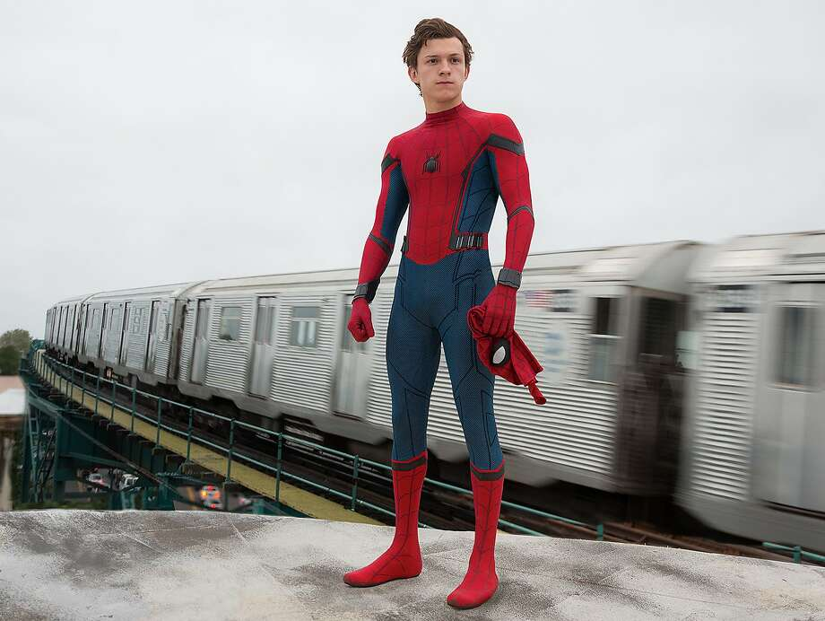 """Tom Holland returns as Marvel's friendly neighborhood Spider-Man, except this time he's Far From Home. Alamo Drafthouse is celebrating the release of """"Spider-Man: Far From Home"""" with a cereal and pajama party. Photo: Chuck Zlotnick, Sony Pictures Entertainment"""