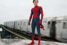 """Tom Holland as Spider-Man faces multiple tests in """"Homecoming."""" MUST CREDIT: Chuck Zlotnick, Sony Pictures Entertainment"""