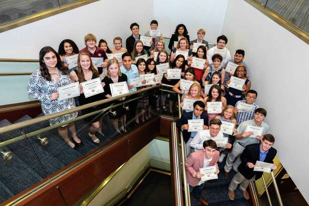 Forty-two SBISD seniors received $1,250 scholarships from  the Spring Branch Education Foundation Employee Campaign.
