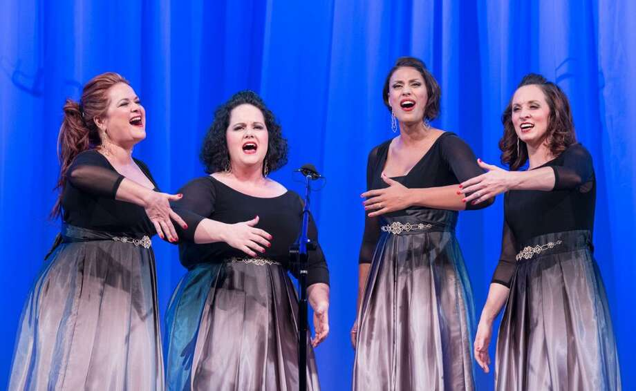 Essence, an award winning quartet of lady barbershop singers, will perform with The Woodlands Show Chorus during a dinner show July 21 in The Woodlands. Photo: Courtesy Photo
