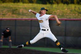 Santa Fe High School pitcher Rome Shubert.