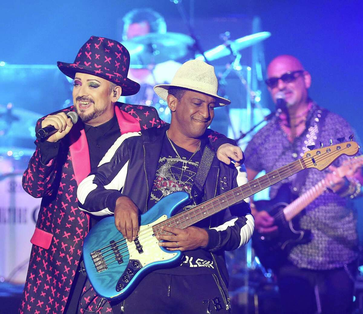 Culture Club returns to the Tobin Center for the Performing Arts July 7.
