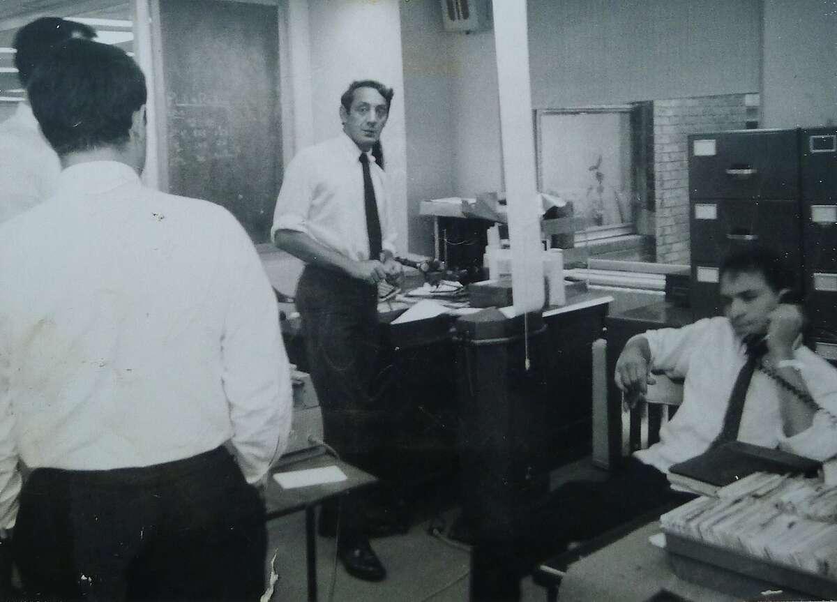 Harvey Milk working on Wall Street, circa 1964.