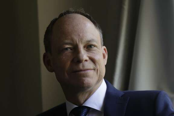 In this May 15, 2018 photo, Judge Aaron Persky poses for photos in Los Altos Hills, Calif. Persky says he would handle the sexual assault case of former Stanford University swimmer Brock Turner the same way today as he did almost exactly two years ago, even though it's the reason why he is the target of a June 5 recall election in Santa Clara County. Persky sentenced Turner to six months in jail. (AP Photo/Jeff Chiu)