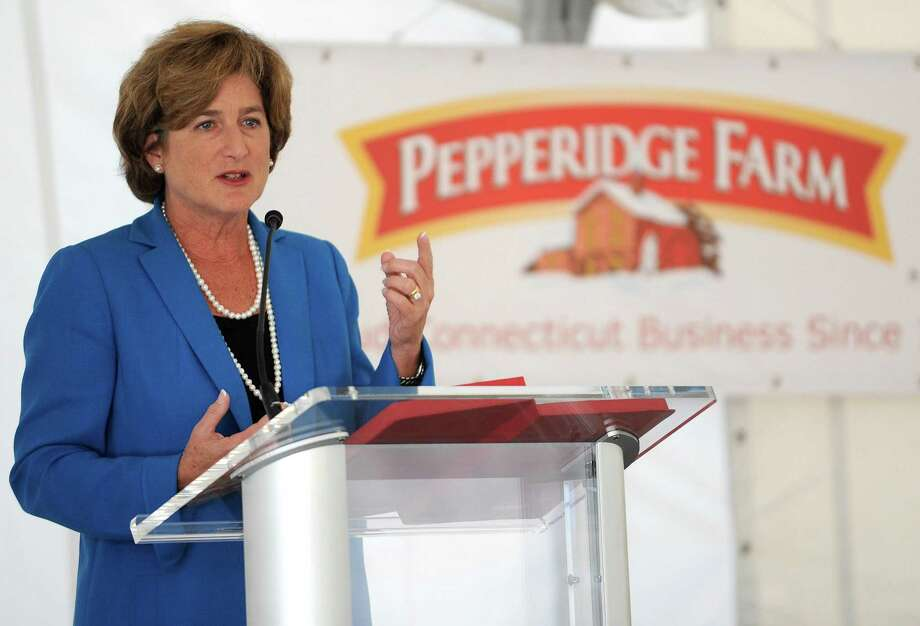 Campbell Soup CEO Denise Morrison in September 2012 at Pepperidge Farm headquarters in Norwalk, Conn. Photo: Lindsay Niegelberg / Lindsay Niegelberg / Stamford Advocate