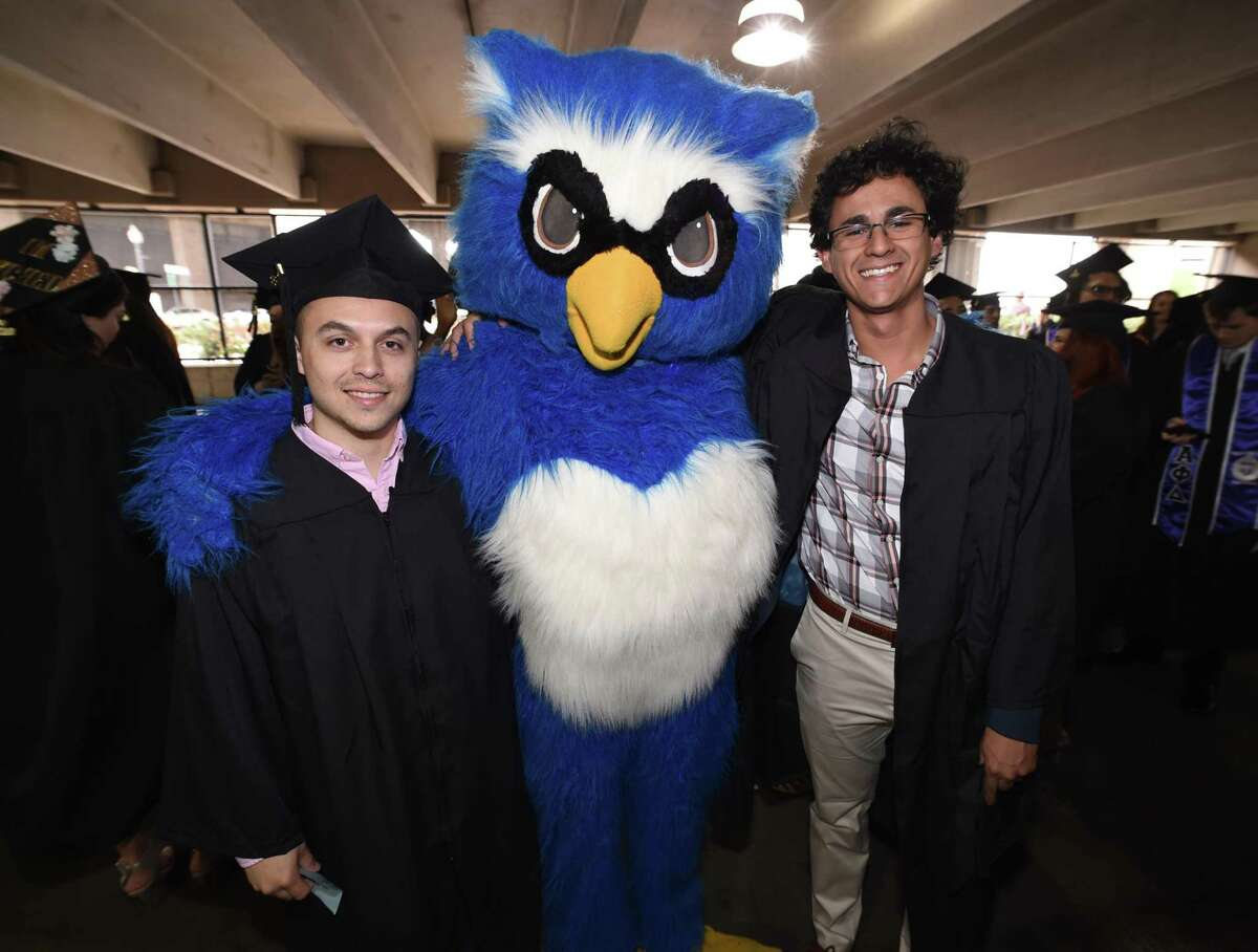 Southern Connecticut State University's undergraduate commencement exercises held at Webster Bank Arena in Bridgeport on May 18, 2018.