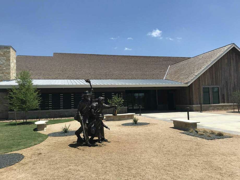 The new museum and visitors center for the San Felipe de Austin State Historic Site, three miles east of Sealey, opened last month. Photo: Joe Holley/Houston Chronicle / Houston Chronicle