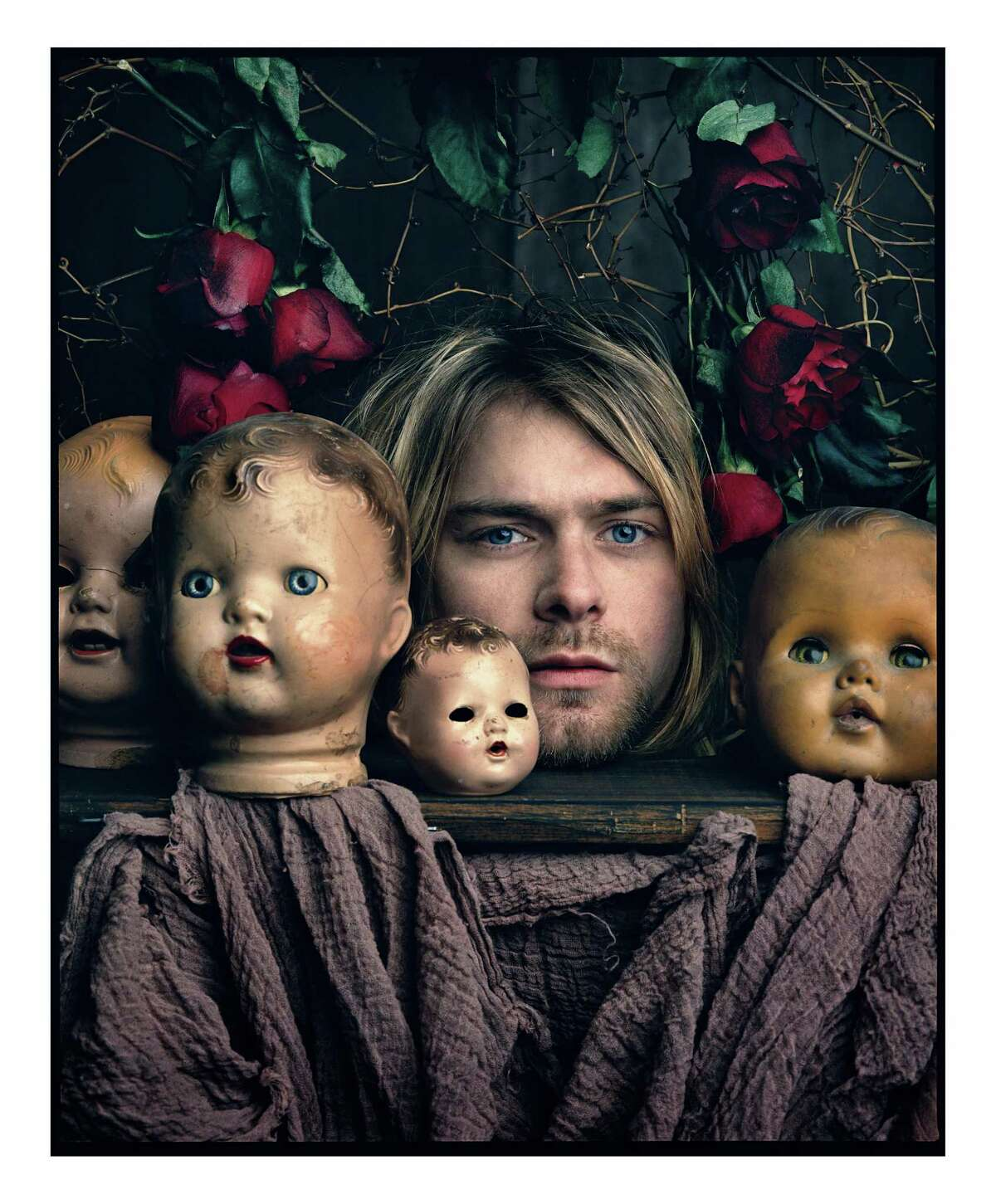 Kurt Cobain photographed by Mark Seliger.