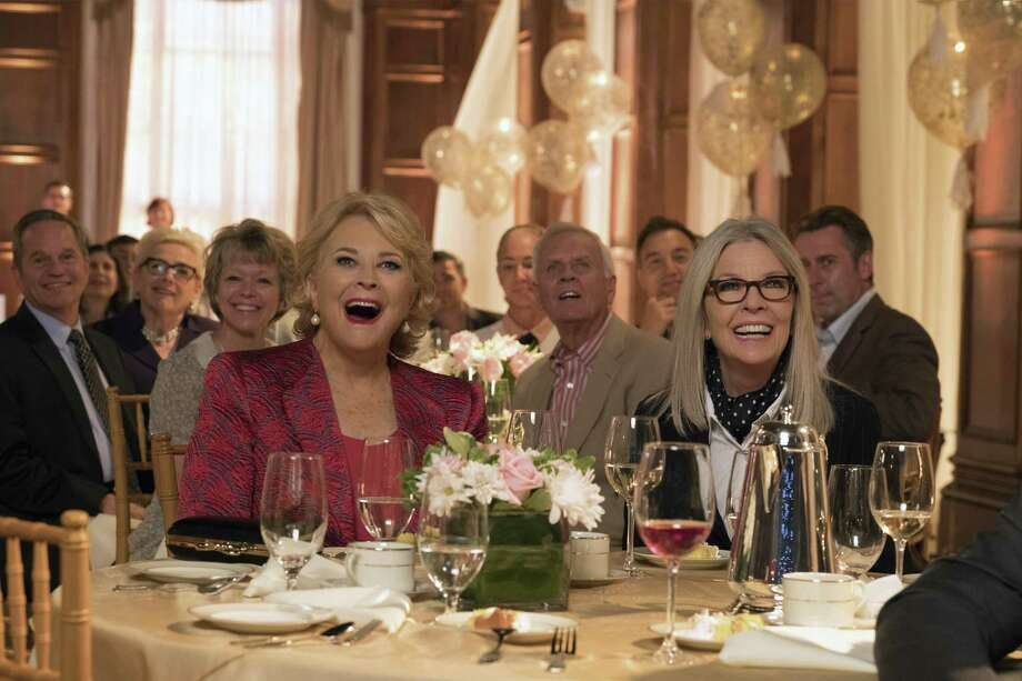 """Candice Bergen, left, and Diane Keaton in a scene from """"Book Club."""" Photo: Melinda Sue Gordon, HONS / Associated Press / © 2018 PARAMOUNT PICTURES. ALL RIGHTS RESERVED."""