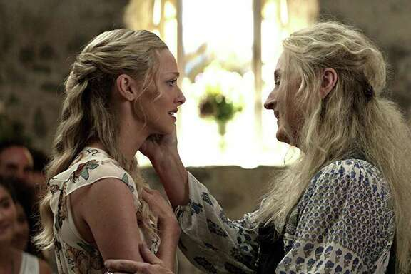 """Meryl Streep and Amanda Seyfried in """"Mamma Mia! Here we Go Again."""""""