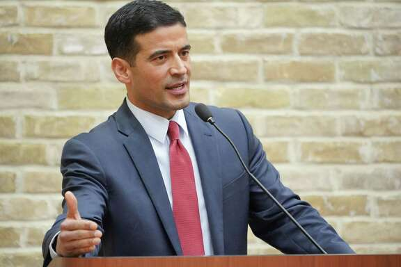 District Attorney Nico LaHood participates in a debate during the primary election. A high profile DWI case has raised suspicions of favorable treatment as he ends his term.