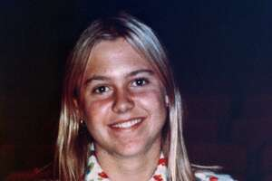 FILE - This 1974 file photograph shows Martha Moxley. The Connecticut Supreme Court has vacated Kennedy cousin Michael Skakel's murder conviction of Moxley and ordered a new trial in connection with a 1975 killing in wealthy Greenwich. The court issued a 4-3 ruling Friday, May 4, 2018, that Skakel's trial attorney, Michael Sherman, failed to present evidence of an alibi. (AP Photo)