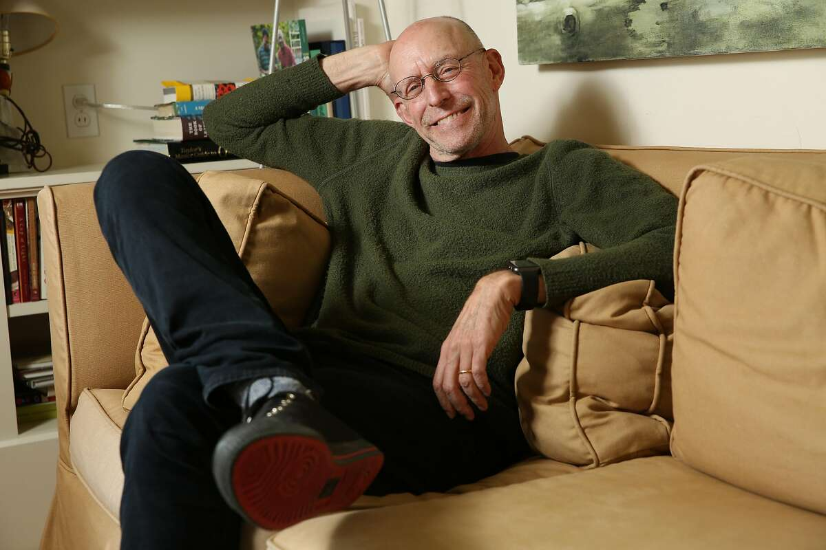 Michael Pollan at his home on Thursday, April 26, 2018, in Berkeley, Calif.