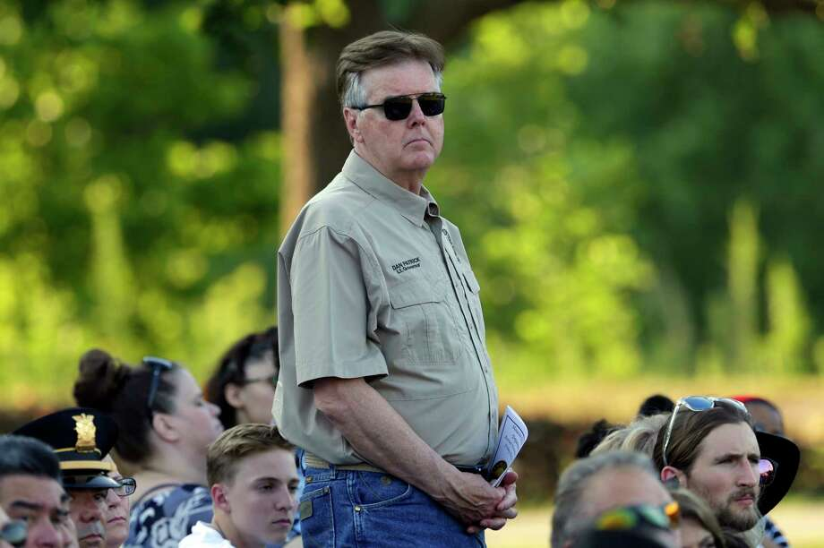 Lt. Gov. Dan Patrick claimed that violent video games caused the school shooting at Santa Fe High. Photo: Michael Wyke, For The Chronicle / © 2018 Houston Chronicle