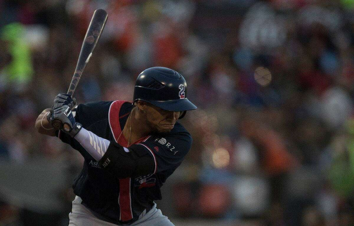 Infielder Gustavo Nunez finished 0-for-4 with a walk in the Tecolotes Dos Laredos' 12-4 loss at Toros de Tijuana on Friday to begin their three-game road series.