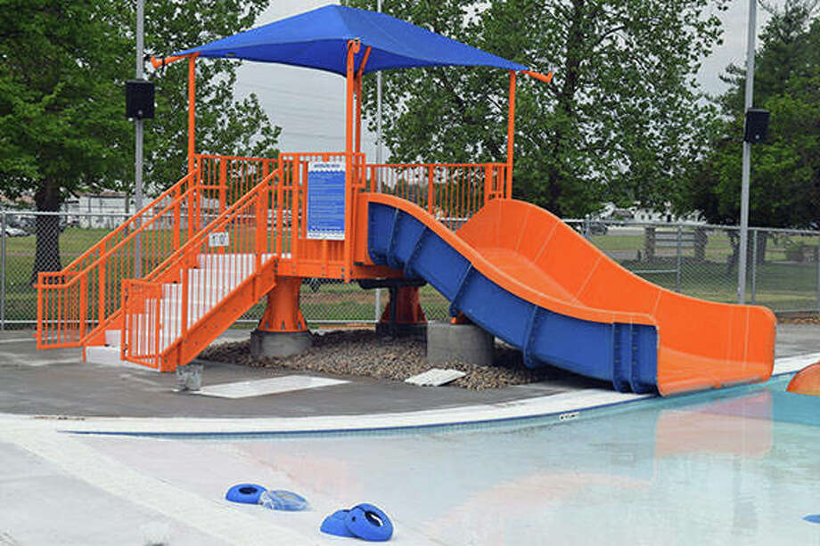 A look at the new Sudbrink Waterpark in Beardstown. Photo:       Nick Draper | Journal-Courier