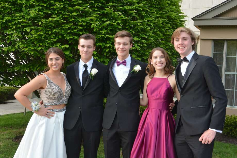Trumbull's St. Joseph's High School held its senior prom at the Waterview in Monroe on May 18, 2018. The senior class graduates on June 2. Were you SEEN at prom? Photo: Vic Eng / Hearst Connecticut Media Group