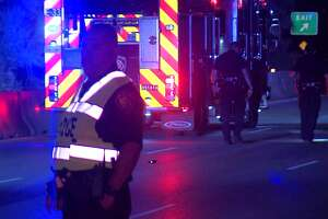 San Antonio police are hoping to find the motorist who they say struck a man on a U.S. 90 frontage road early Saturday, May 19, 2018, leaving him in critical condition.