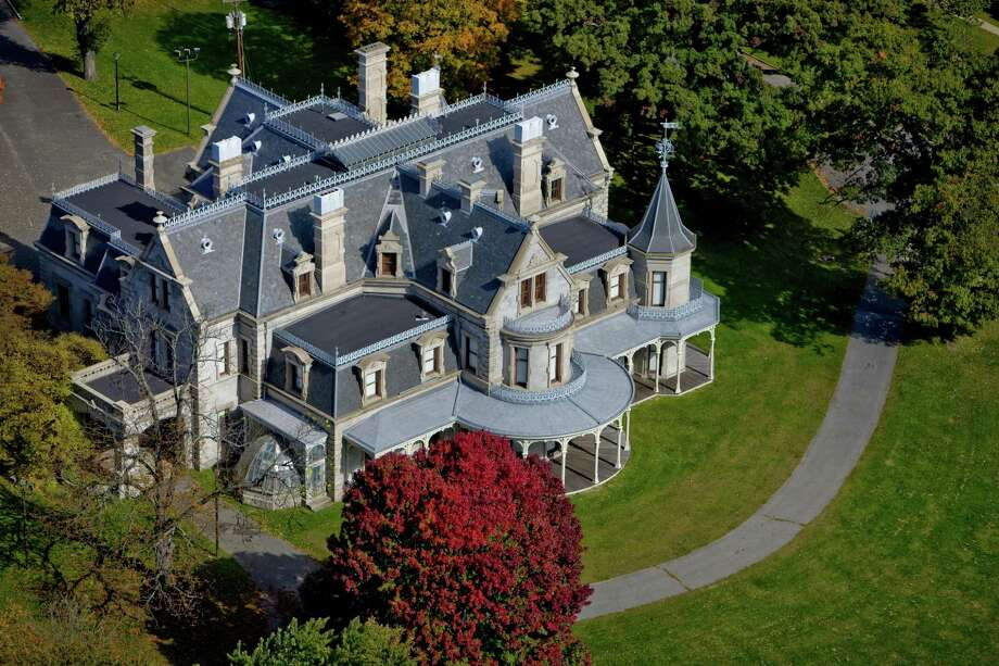 The Lockwood-Mathews Mansion Museum, above, in association with the Center for Contemporary Printmaking and the Stepping Stones Museum for Children, will host a Scavenger Hunt June 3 at Mathews Park in Norwalk. Photo: Steve Turner / Contributed Photo / steve turner - 2008