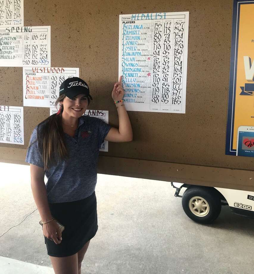 Oak Ridge junior Sloane Bennett is the first player from her school to reach the state golf championships since 1999. Photo: Submitted Photo