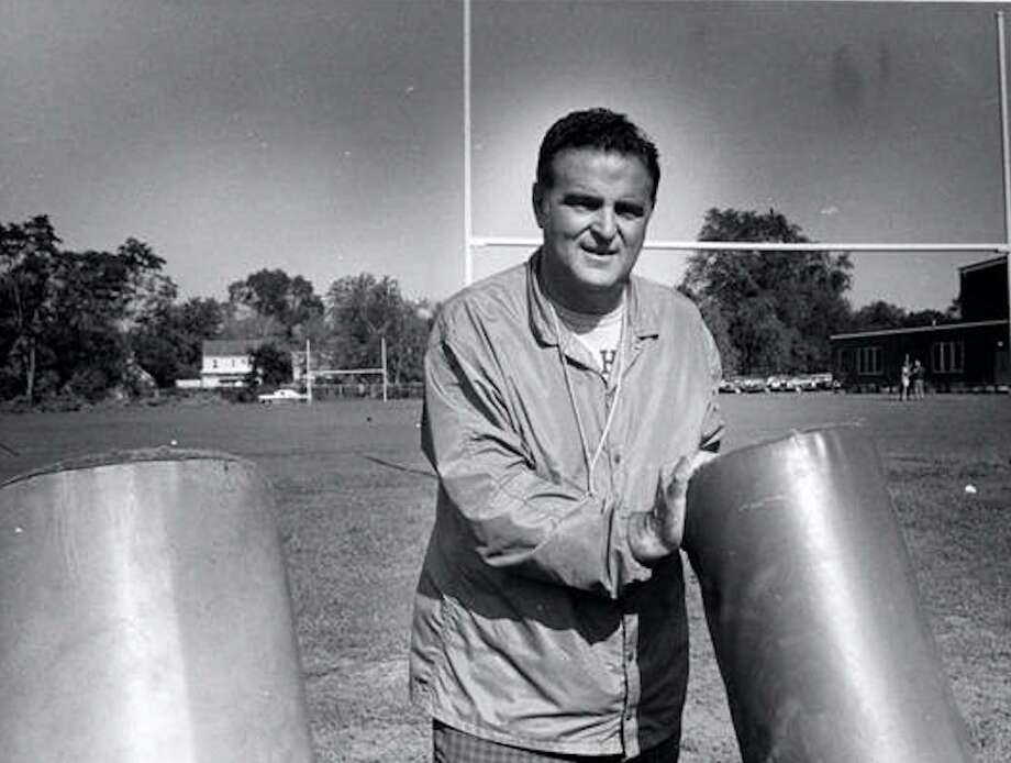 East Haven High coaching legend Frank Crisafi led the boys' basketball team to 73 consecutive victories in the 1950s and also had enough success as football coach to have the field named after him. Photo: Hearst Connecticut Media File Photo