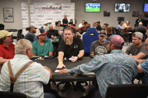 First day of the Main Event poker tournament at Kojack's Poker Club on May 19, 2018. James Durbin/Reporter-Telegram