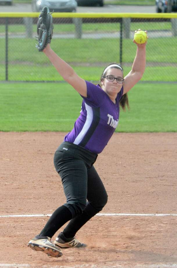 North Branford pitcher Sydney Senerchia has a 15-0 record with a 0.15 ERA to go along with 187 strikeouts in 95 innings pitched. Photo: Dave Phillips / For Hearst Connecticut Media