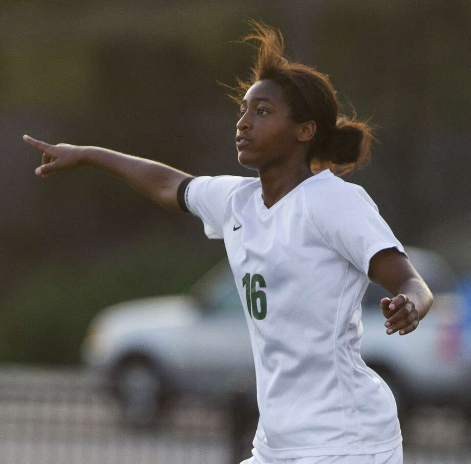 The Woodlands forward Jazzy Richards (16) leaves the program as the all-time leader in goals and points. Photo: Jason Fochtman, Staff Photographer / Houston Chronicle / © 2018 Houston Chronicle
