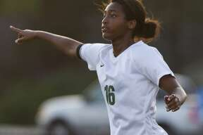 The Woodlands forward Jazzy Richards (16) leaves the program as the all-time leader in goals and points.